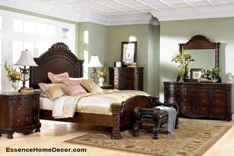 Ashley Furniture North Shore Panel Bedroom Set