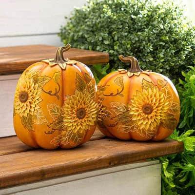 Sunflower Pumpkins