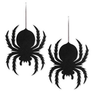 Halloween Hanging Spiders
