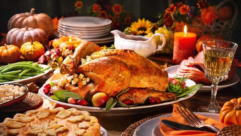 Thanksgiving Dinner and Christmas Dinner