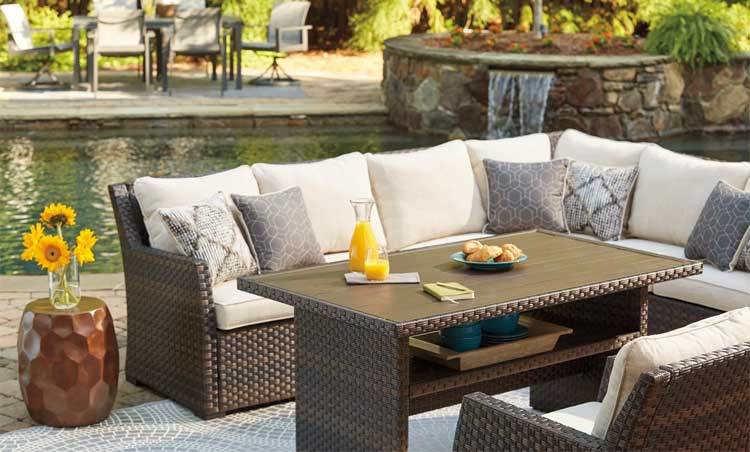 Outdoor 3-Piece Sectional