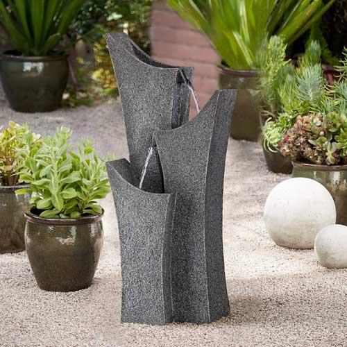 Modern Zen Outdoor Fountain